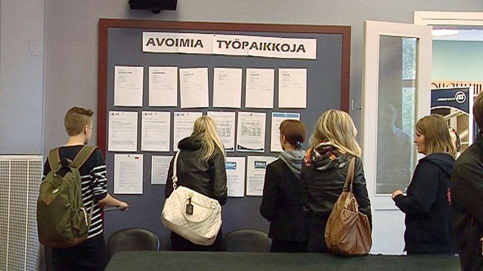 Центр занятости в Финляндии