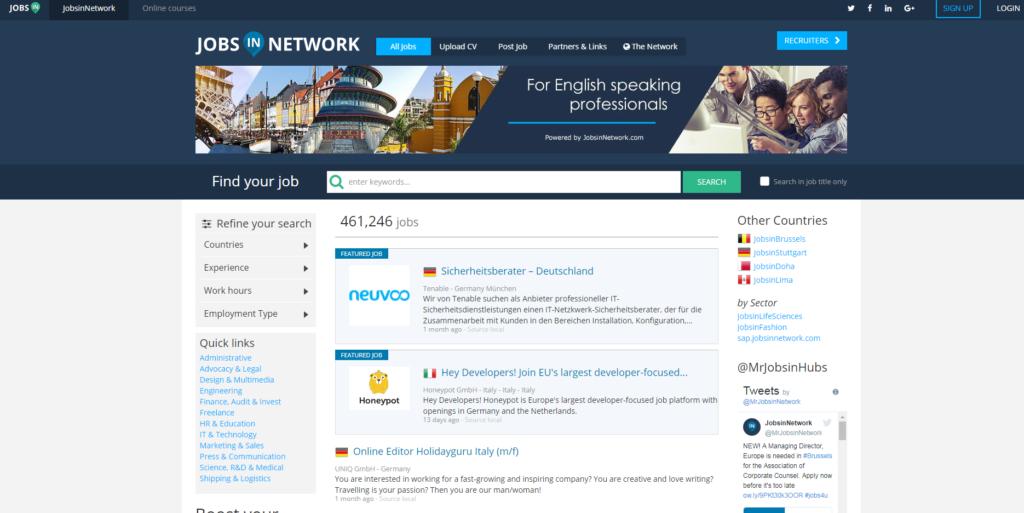 jobsinnetwork.com - лидер вакансий