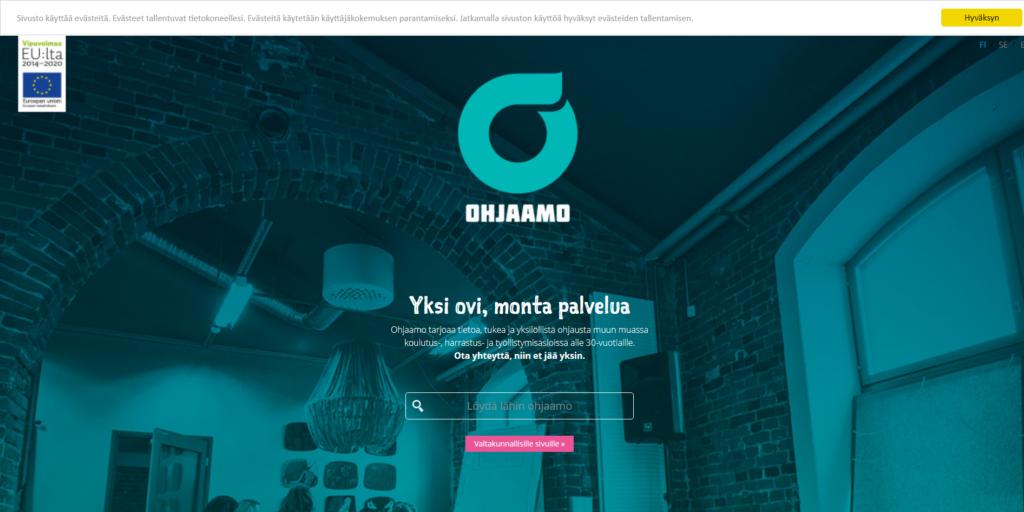 Ohjaamo - второй в Финляндии по предложениям работы
